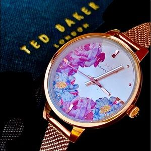 Ted Baker Womens Watch Set  Rose Gold Tone